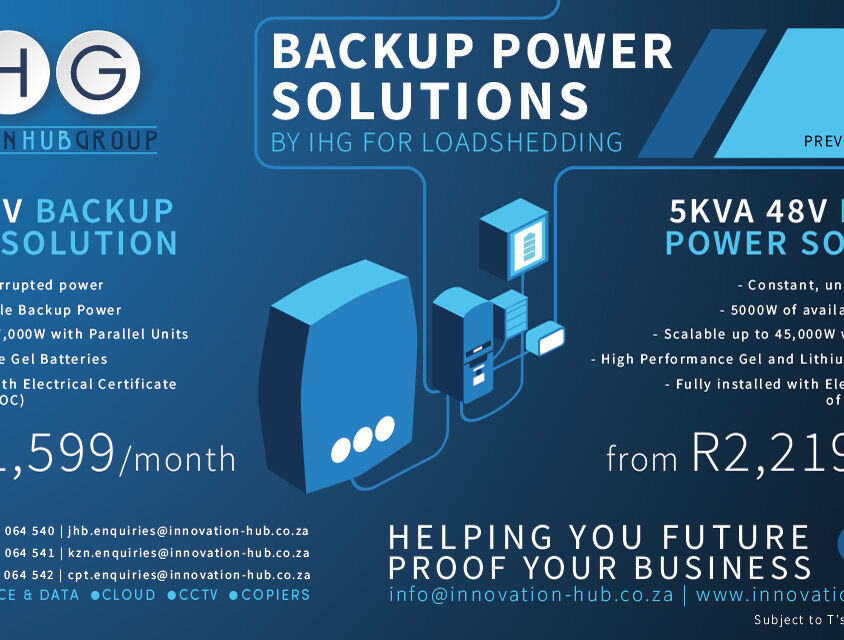 Backup Power Solutions